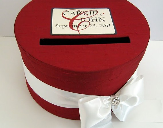 Wedding Card Box Giveaway with Lacey Claire Designs