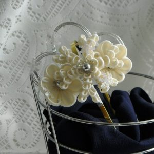 Japanese Kanzashi Bridal Hairband