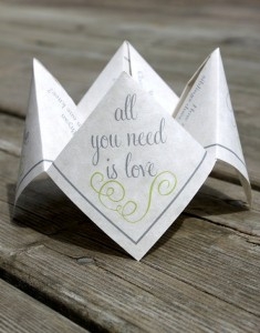 Wedding Cootie Catcher