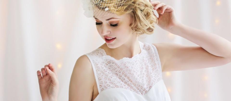 Etsy Wedding Team: bridal dress. Photo by AmandaArcher