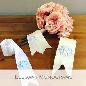 Elegant Monograms - Member of the Etsy Wedding Team