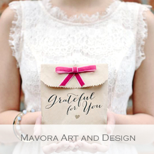 Mavora Art and Design - Member of the Etsy Wedding Team