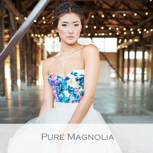 Pure Magnolia - Amanda Archer - Member of the Etsy Wedding Team (Bridal Dresses and Gowns)