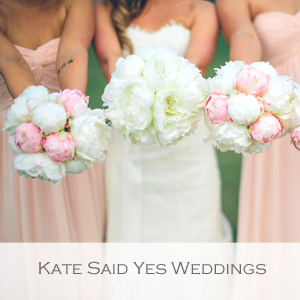 Kate Said Yes Weddings - Member of the Etsy Wedding Team